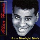ALLAN HARRIS It's a Wonderful World album cover