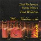 ALLAN HOLDSWORTH i. o. u. Live album cover