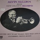 ALVIN ALCORN Alvin Alcorn And His New Orleans Jazz Band album cover