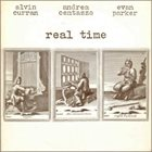 ALVIN CURRAN Alvin Curran, Andrea Centazzo, Evan Parker : Real Time (aka Real Time One) album cover