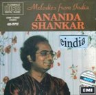 ANANDA SHANKAR Melodies from India album cover