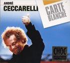ANDRÉ CECCARELLI Carte blanche album cover