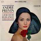ANDRÉ PREVIN A Touch Of Elegance: The Music Of Duke Ellington album cover