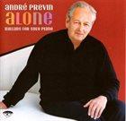 ANDRÉ PREVIN Alone: Ballads for Solo Piano album cover