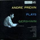 ANDRÉ PREVIN André Previn Plays Gershwin album cover