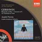 ANDRÉ PREVIN Gershwin - Rhapsody In Blue album cover