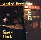 ANDRÉ PREVIN Live at the Jazz Standard album cover