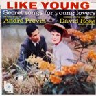 ANDRÉ PREVIN Secret Songs For Young Lovers album cover