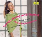 ANDRÉ PREVIN Tango Song And Dance album cover