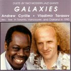 ANDREW CYRILLE Galaxies (with Vladimir Tarasov) album cover