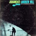 ANDREW HILL Judgment! album cover