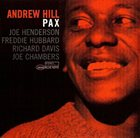 ANDREW HILL Pax album cover
