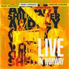 ANDREY KONDAKOV Live In Norway album cover