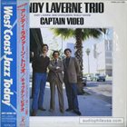 ANDY LAVERNE Captain Video album cover