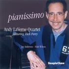 ANDY LAVERNE Pianissimo album cover