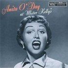 ANITA O'DAY Anita O'Day at Mister Kelly's album cover