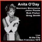 ANITA O'DAY Live at the City album cover