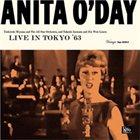 ANITA O'DAY Live in Tokyo '63 album cover