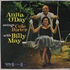 ANITA O'DAY Swings Cole Porter with Billy May album cover