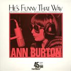 ANN BURTON He's Funny That Way album cover