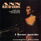 ANN RICHARDS I Hear Music album cover