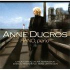 ANNE DUCROS Piano Piano album cover