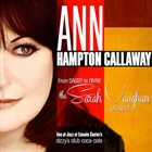 ANNE HAMPTON CALLAWAY From Sassy to Divine: Sarah Vaughan Project album cover