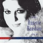 ANNETTE HANSHAW Vol. 7: 1929-1930 album cover