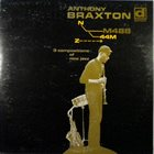 ANTHONY BRAXTON 3 Compositions of New Jazz album cover