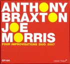 ANTHONY BRAXTON 4 Improvisations album cover