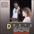 ANTHONY BRAXTON Duets - Vancouver 1989 (with Marilyn Crispell) album cover