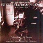 ANTHONY DAVIS Interpretations of Monk, Vol.2 album cover