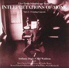 ANTHONY DAVIS Anthony Davis / Mal Waldron : Interpretations Of Monk Vol. 2 album cover
