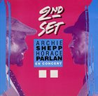 ARCHIE SHEPP Archie Shepp & Horace Parlan : Second Set album cover