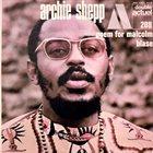 ARCHIE SHEPP Poem For Malcolm / Blasé album cover