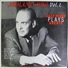 ARMAND HUG Armand Hug Plays Jazz Piano Greats Vol 1 album cover