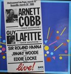 ARNETT COBB Arnett Cobb / Guy Lafitte ‎: Live In France album cover