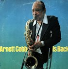 ARNETT COBB Arnett Cobb Is Back album cover