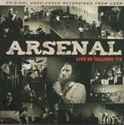 ARSENAL Live In Tallinn 74 album cover