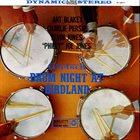 ART BLAKEY Gretsch Drum Night at Birdland (aka Jazztracks) album cover