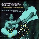 ART BLAKEY Holiday for Skins, Volume 2 album cover