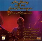 ART BLAKEY Live At Kimball's album cover