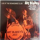 ART BLAKEY Live At The Renaissance Club album cover