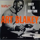 ART BLAKEY Orgy in Rhythm, Volume 1 album cover
