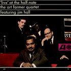 ART FARMER / THE JAZZTET Live At The Half-Note album cover