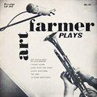 ART FARMER Art Farmer Plays (aka Art Farmer Quartet) album cover