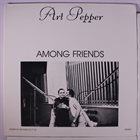 ART PEPPER Among Friends album cover