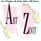 ART PEPPER Art & Zoot (aka Art 'N' Zoot) album cover