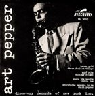 ART PEPPER Art Pepper (aka Art Pepper Quartet) album cover
