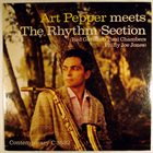 ART PEPPER Art Pepper Meets the Rhythm Section album cover